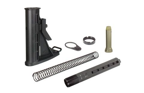 UTG PRO 6-Position Mil-Spec Collapsible Stock Assembly Made in USA