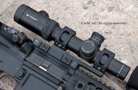 Vortex Optics Viper PST 1-4x24 TMCQ MOA