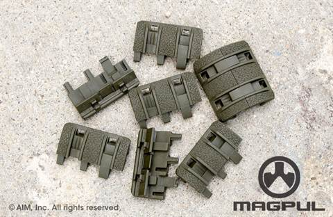 Magpul XTM Enhanced Rail Panels OD Green