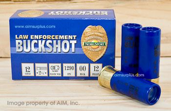 Nobel Sport 12 Gauge Law Enforcement 00 Buck Shot 10rd box