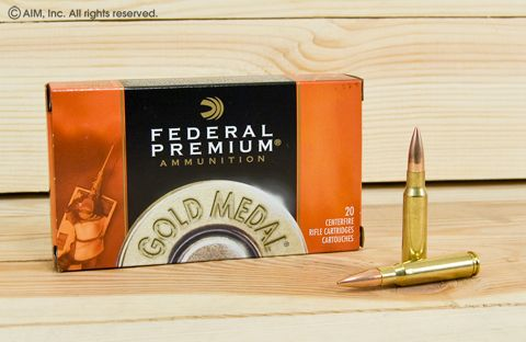 Federal Gold Medal Match 175grn JHP 20rd box