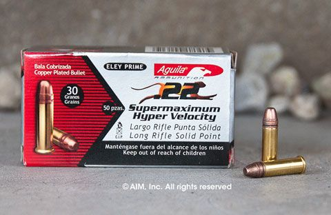 Aguila .22lr Super Maximum 30grn 50rd Box