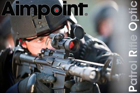 Aimpoint PRO Patrol Rifle Optic Red Dot Sight