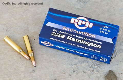 Prvi Partizan .222 Remington 50grn Soft Point 20rd Box