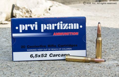 Prvi Partizan PPU 6.5 Carcano 123grn Soft Point 20rd Box
