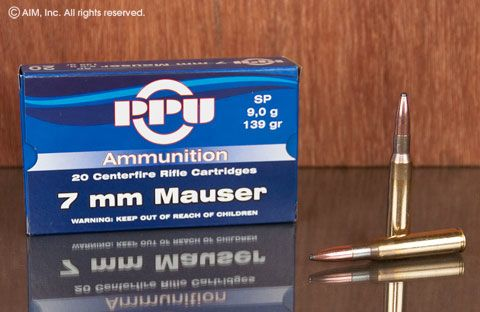 Prvi Partizan PPU 7mm Mauser 139gr SP 20rd Box