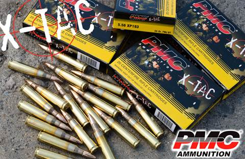 PMC  5.56x45 (.223) 55grn XP193 1,000rd CASE