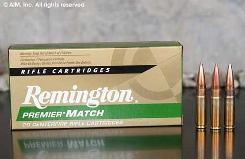 Remington Premier MATCH .300 AAC BLACKOUT 125grn OTM 20rd box