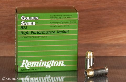 Rem. Golden Saber .45 185grn JHP 25rd box