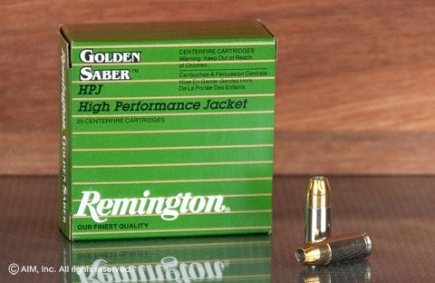 Rem. Golden Saber 9mm 147grn JHP 25rd box