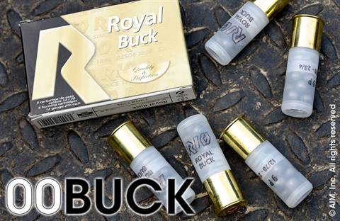 "RIO Royal 12ga 00 Buck 2 3/4"" 5 Rd Box"