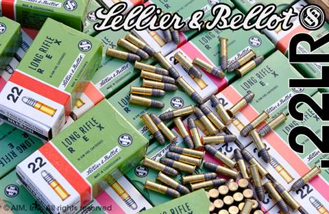 Czech Military Sellier & Bellot .22lr Target Grade 50rd Box