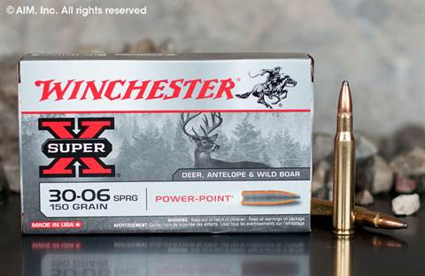 Winchester Power Point 30.06 150grn SP (X30061) 20rd box