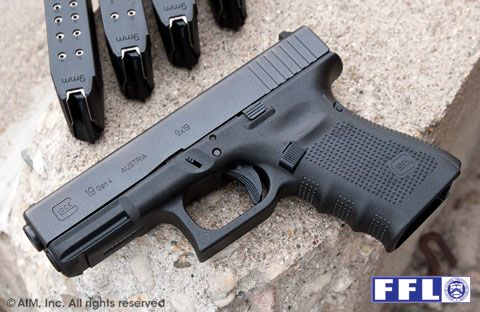 New Glock 19 9mm Handgun Gen 4