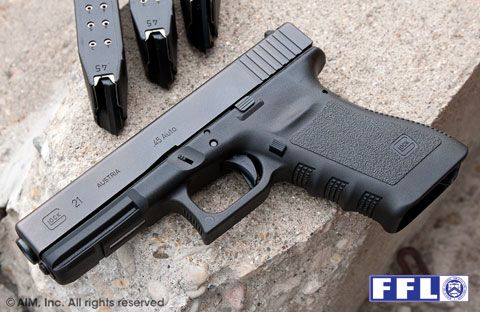 New Glock 21 .45acp Handgun Gen 3