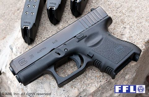 New Glock 26 9mm Handgun Gen 3