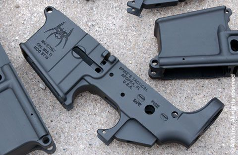 Spike's Tactical Lower AR15 Receiver (Cosmetic Blemish)