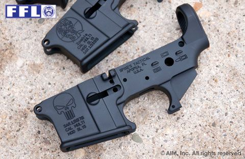 Spike's Tactical Multi. Cal. Punisher AR Receiver