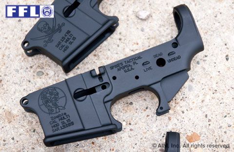 Spike's Tactical Multi. Cal. Zombie AR Receiver