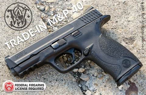 Smith & Wesson M&P .40 Pistol