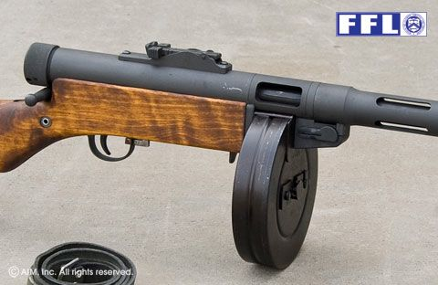 Finnish Suomi M31 9mm Rifle