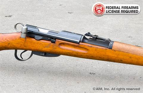Swiss K31 7.5x55 Rifle Package w/ Beech Wood Stock