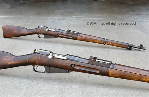Finnish WWII VKT Model 1939 7.62x54R Mosin Nagant Rifles