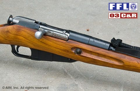 TULA Russian 1891/30 7.62x54R Mosin Nagant Rifle