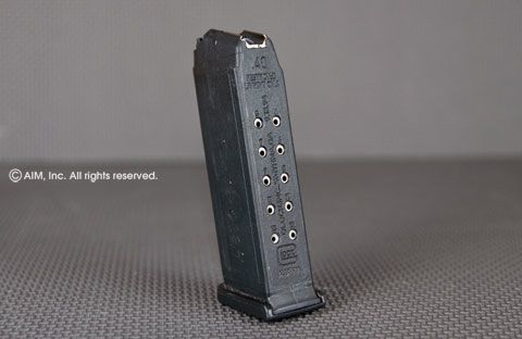 Glock Model 23 13rd .40cal Magazine Used
