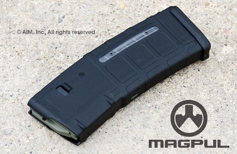 Magpul PMag GEN M2 MOE Window 30rd 5.56/.223 AR Rifle Magazine Black