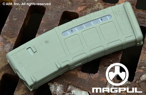 Magpul PMag GEN M2 MOE Window 30rd 5.56/.223 AR Magazine Foliage Green
