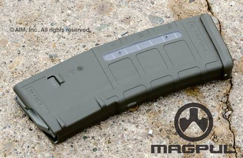 Magpul PMag MOE Window 30rd 5.56/.223 AR  Magazine OD Green