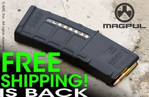 Magpul GEN M3 Window 5.56/.223 AR15/M16 Rifle 30rd PMAG