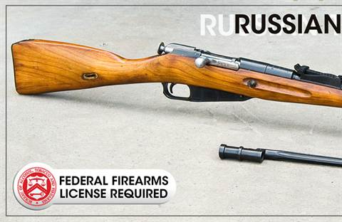 Russian 1891/30 7.62x54R Mosin Nagant Rifles