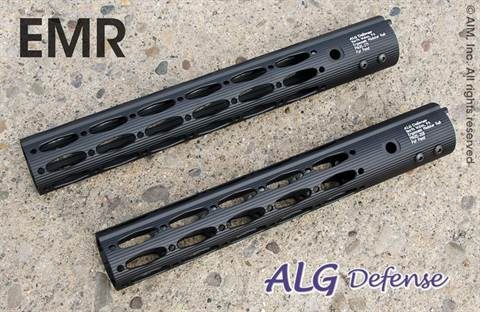 "ALG Defense 12"" Ergonomic Modular Rail Black"