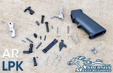 Anderson Manufacturing AR Lower Receiver Parts Kit
