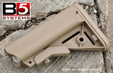 B5 Systems SOPMOD 6-Position Stock Flat Dark Earth (Tan)