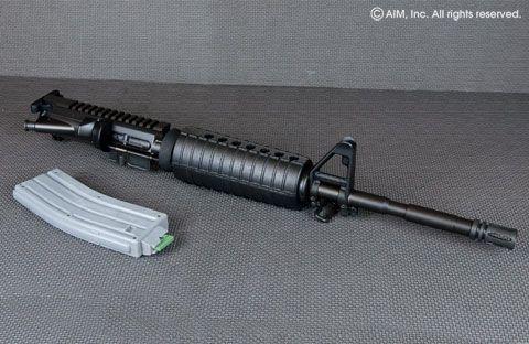 Cmmg Upper Receiver http://www.aimsurplus.com/product.aspx?item=XCMMG10299&name=CMMG+16%22+.22lr+Complete+Upper+Receiver&groupid=150