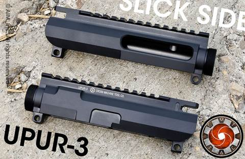 CMT UPUR-3 Billet Slick Side Upper Receiver