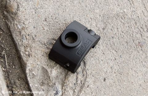 Gear Sector Rail Mount QD Socket Black.