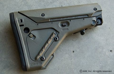 Magpul UBR Adjustable Rifle Stock OD Green