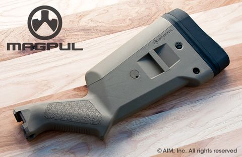 Magpul SGA™ Stock – Remington 870 Shotgun Dark Earth (Tan)
