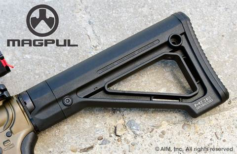 Magpul MOE Fixed Carbine Stock – Mil-Spec. Black