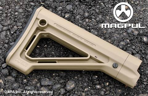 Magpul MOE Fixed Carbine Stock – Mil-Spec. Flat Dark Earth (Tan)