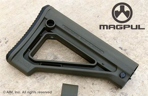 Magpul MOE Fixed Carbine Stock – Mil-Spec. OD Green