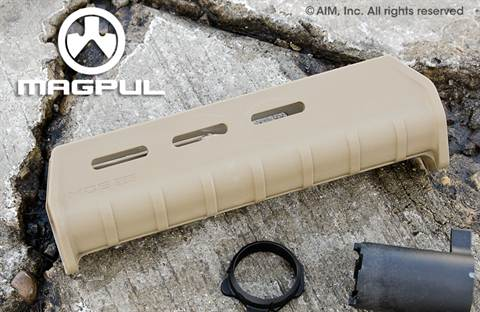 Magpul MOE® Forend – Mossberg 590/590A1 Shotgun DARK EARTH (TAN)