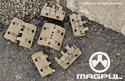 Magpul XTM Enhanced Rail Panels Flat Dark Earth (TAN)