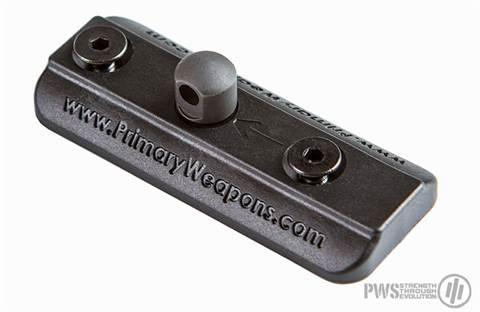 PWS KeyMod Bipod Adapter for Harris style bipods