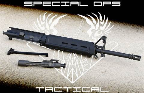 "Special Ops Tactical 16"" Midlength .223/5.56 Upper Receiver Group"
