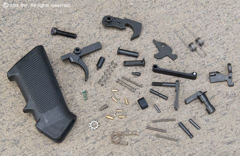 Spike's Tactical AR15 Lower Receiver Parts Kit